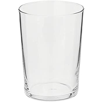 Bormioli Rocco Bodega Collection Glassware - Set Of 12 Medium 12 Ounce Drinking Glasses For Water, Beverages & Cocktails - 12oz Clear Tempered Glass Tumblers