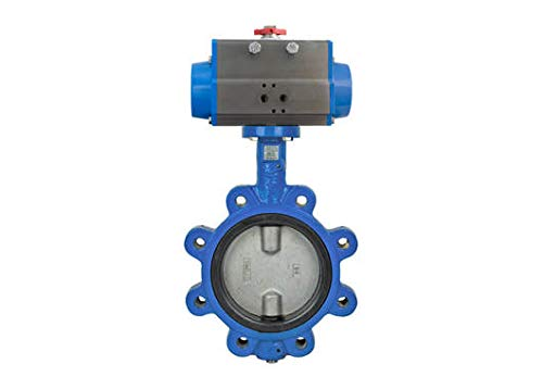 10'' Bonomi SR501S - Lug Style, Epoxy Coated Ductile Iron, Stainless Steel Disc, Direct Mount, Butterfly Valve with SR Actuator by Bonomi valves