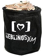 LIEBLINGS Ding Tvättpåse i nät med dragkedja för tvättmaskin - tvättpåse för underkläder, delikata, skor, strumpor