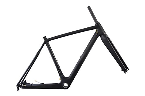 ICAN Carbon Cyclocross Bike Frame 52cm BB86 & Di2 Disc Brake