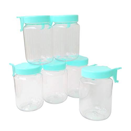 (Tall Pegboard Accessories Organizer Storage Jars - Large Size 2