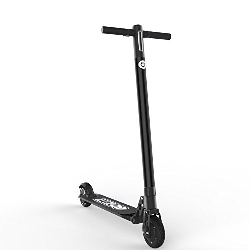 GOTRAX Glider Electric Scooter for Kids & Adults up to 264LBS - up to 17mph - 9+ mile range (Black)