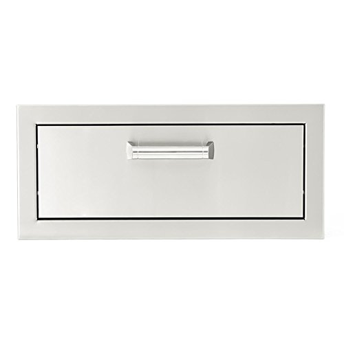 BBQGUYS Sonoma Series 20-Inch Stainless Steel Single Access Drawer