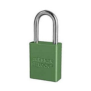 6 Pack American Lock Padlock With 1 1/2'' Solid Aluminum Body 1 1/2'' Shackle