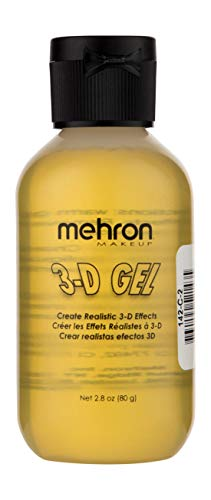 Mehron Makeup 3D Gel (2 ounce) (Clear) -