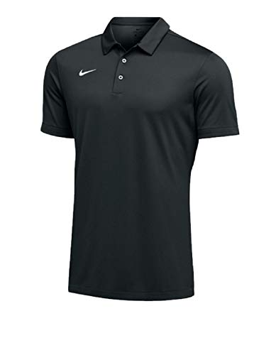 Nike Mens Dri-FIT Short Sleeve Polo Shirt (XXX-Large, Black)