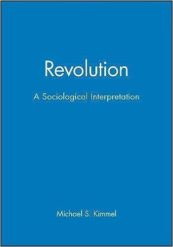 Revolution - A Sociological Interpretation: Revolutions in Sociological Perspectives