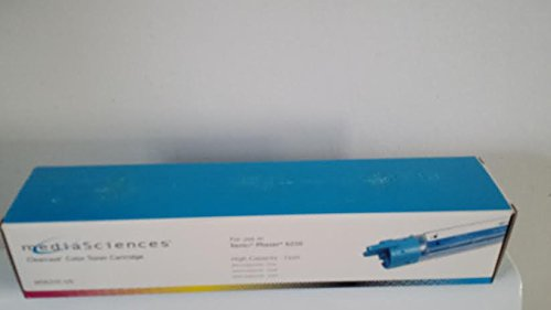 (Media Sciences Clear Color Toner Cartridge High Capacity Cyan for Xerox Phaser 6250)