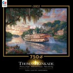 Ceaco Thomas Kinkade Special Edition The River Queen Puzzle (750 Piece)
