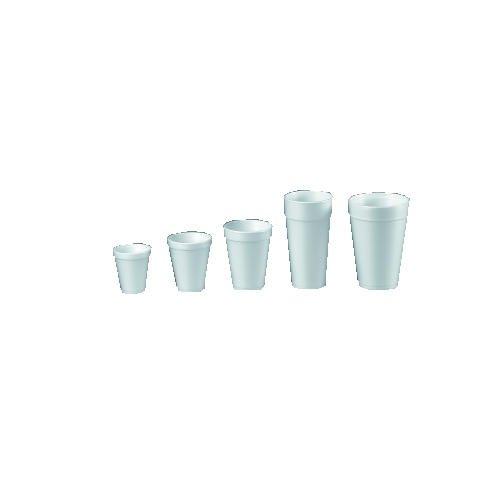 DCC24J16 - Foam Cups, Hot/cold, 24 Oz., White, 25/bag