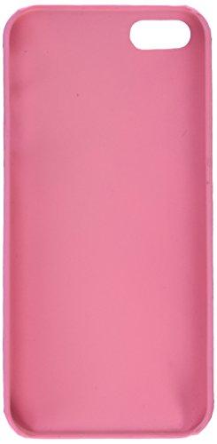 Apple iPhone SE / 5S / 5 | iCues modèle de luxe Case rose | [Protecteur d'écran, y compris] protection de la peau Couvercle de protection Couvercle Coque Housse Sac Étui Case Cover