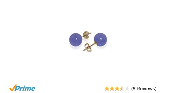 10mm Green Closisonne Bead Lever Back Earrings in 14K Yellow Gold