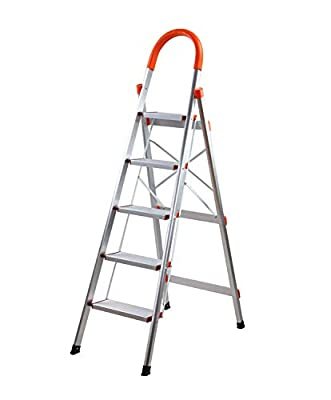 Aluminum Step Ladder Lightweight Multi Purpose Portable Folding Home Ladder