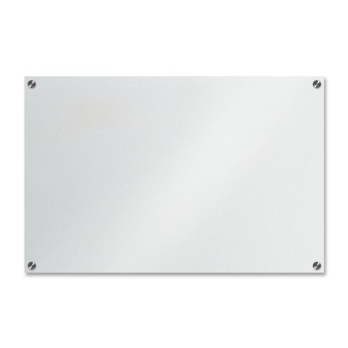 Frosted Glass Dry Erase Board 32x23. The Board Dudes