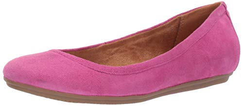 Naturalizer Women's Brittany Shoe, Pink Suede, 7 M US
