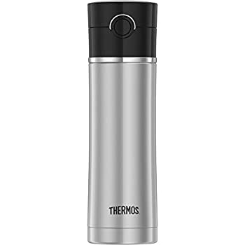 Thermos NS402BK4 16-Ounce Drink Bottle, 16oz, Black