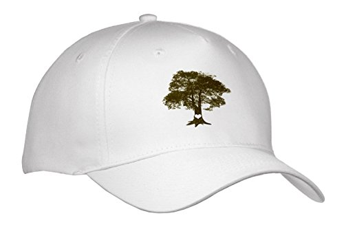 Janna Salak Designs Love   Heart Carved Oak Tree   Caps   Adult Baseball Cap  Cap 266110 1