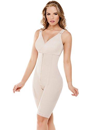 c7c86478443 Fajate Women s Colombiana Powernet Integral Body Bra Soporte Small Nude