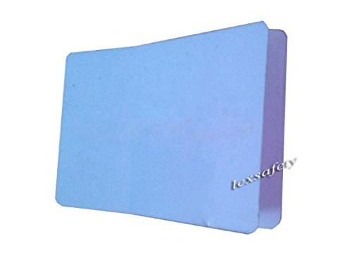 Generic white blank 13.56mhz iso15693 icode sli icode2 plastic self adhesive rfid card,printable one side stickable rfid card Pack of 500