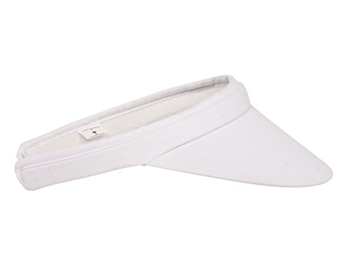 TOP HEADWEAR Outdoor Clip-On Visor - White
