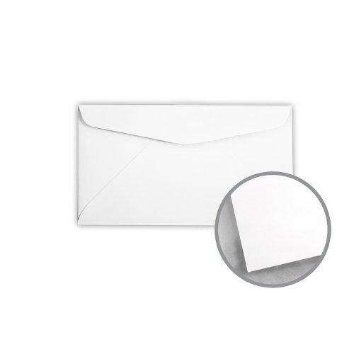 Printmaster White Envelopes - No. 6 3/4 Regular (3 5/8 x 6 1/2) 24 lb Writing Wove 5000 per Carton by National Envelope Printmaster
