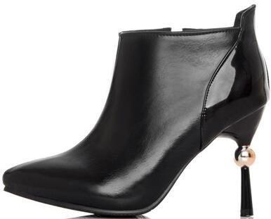 Laruise Women's British Boots Black Dhif4