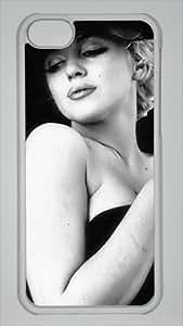 CSKFUDIY Hard Shell Transparent iphone 6 5.5 plus iphone 6 5.5 plus Case America Actress Marilyn Monroe