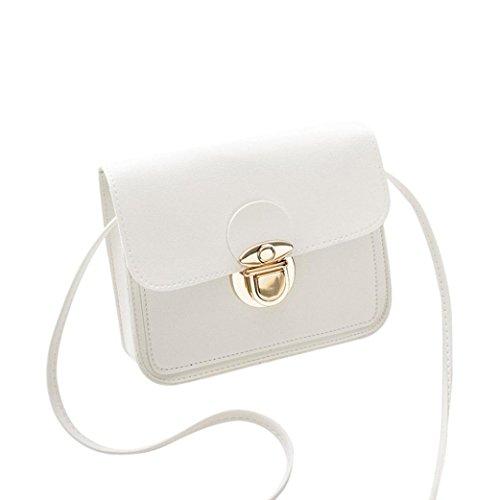 Tote Body Messenger Cross Bag Hobo Cover Bags Girl for Handbag FDelinK White Fashion Women SXwIx8