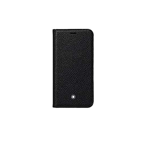 Montblanc Meisterstück Soft Grain Flipside Stand Up Case for Apple iPhone XR Black 16 cm