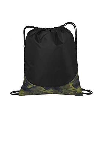 Port Authority luggage-and-bags Patterned Cinch Pack OSFA Camouflage