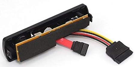 Bo/îtier Externe USB en m/étal pour Disque Dur Externe 2,5 3,5 8,9 cm et 5,25 2,5 USB 2.0 Silber nur IDE
