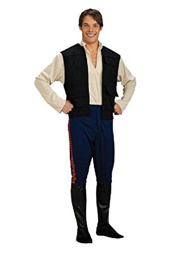 8eighteen Star Wars Deluxe Han Solo Adult Halloween Costume - Star Wars Deluxe Han Solo Adult Costumes