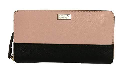 Kate Spade Newbury Lane Neda Leather Wallet (Warmvelom/black)
