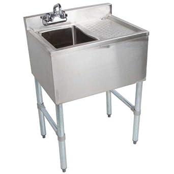 Amazon.com: Fregadero de acero inoxidable comercial ...