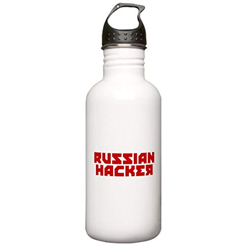 CafePress Russian Hacker Stainless Water Bottle 1 Stainless Steel Water Bottle, 1.0L Sports Bottle]()