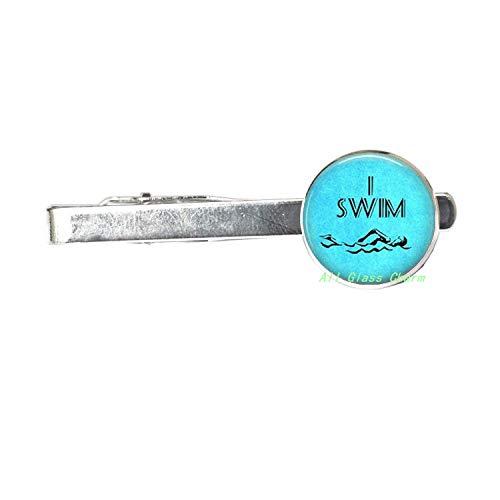 Swimming Tie Clip