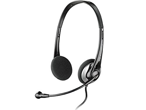 Pc Headset Phone Telephone (Plantronics .Audio 326 Stereo PC)