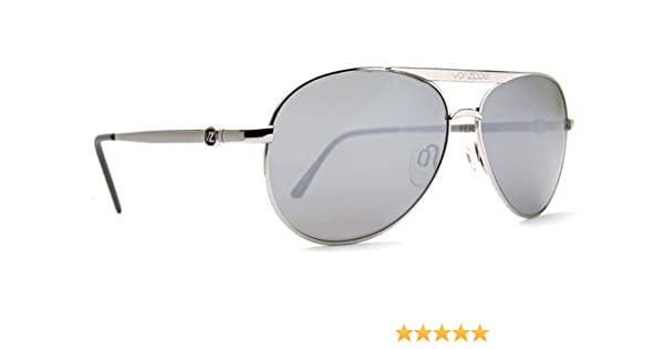 ad3526d9b6 Amazon.com  VON ZIPPER FERNSTEIN SILVER METAL AVIATOR SUNGLASSES  Shoes