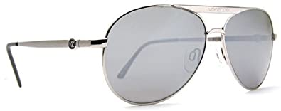 8652adefef Image Unavailable. Image not available for. Color  VON ZIPPER FERNSTEIN  SILVER METAL AVIATOR SUNGLASSES