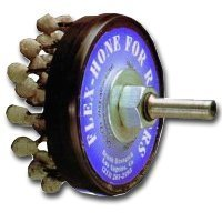 Brush Research Mfg BRMRMFH120Z25 Flex-Hone for Brake Rotors- Medium Grit by Brush Research