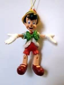 Disney World WDW Park 2015 Pinocchio Hinged Puppet Christmas Ornament (Marionette Pinocchio)