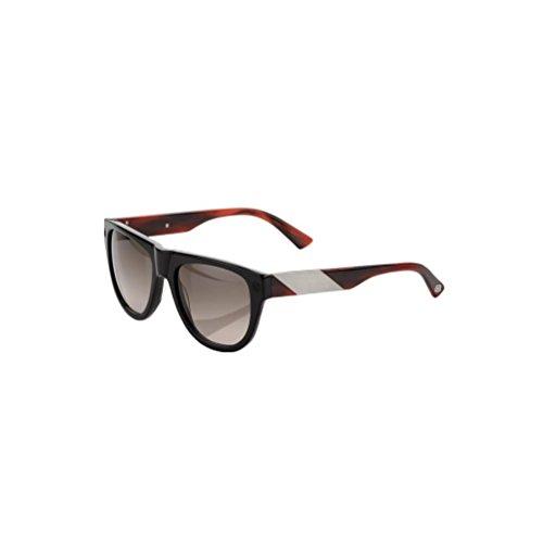 100% Adult Higgins Sunglasses, Gloss Black/Tortoise, One - Superbike Sunglasses