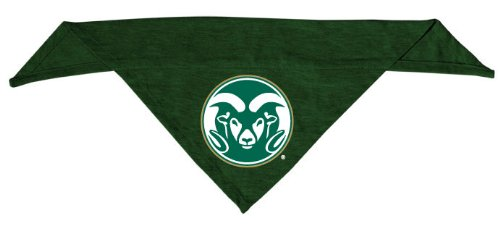 Dog Zone NCAA Pet Cotton Bandana, Small, Colorado State University