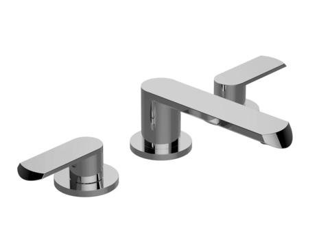 Graff G-6610-LM45B-PN - Phase Widespread Lavatory Faucet - Polished Nickel Finish
