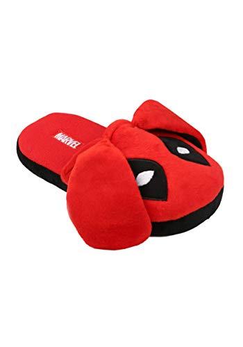 (Deadpool Bunny Ears Men's Slippers 7/8)