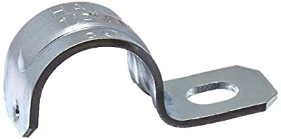 Halex 26151 25 Count 1/2-Inch Steel One-Hole Strap