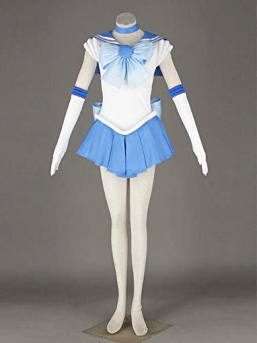 RAIN Cosplay Costume Sailor Moon Mercury Mizuno