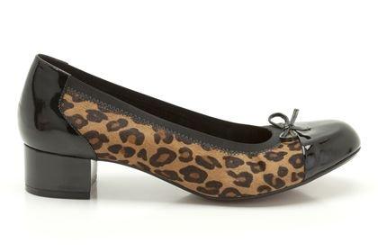 de12fb97fff Clarks Womens Balcony Poem Leopard Print Smart Shoes: Amazon.co.uk: Shoes &  Bags