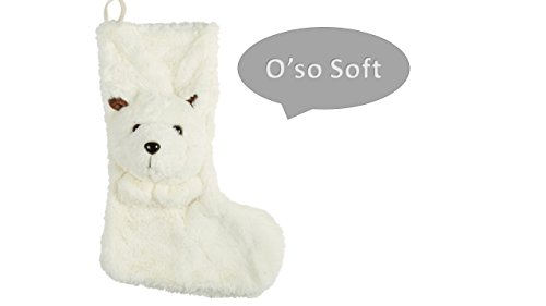 Christmas Stocking - Polar Bear Christmas Stocking - Add Some Cheer With a Fun and SO SOFT 24