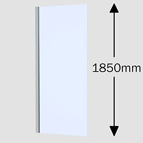 Hydrolux Puerta y Panel de Ducha Plegable de 760 x 760 mm, Cristal ...
